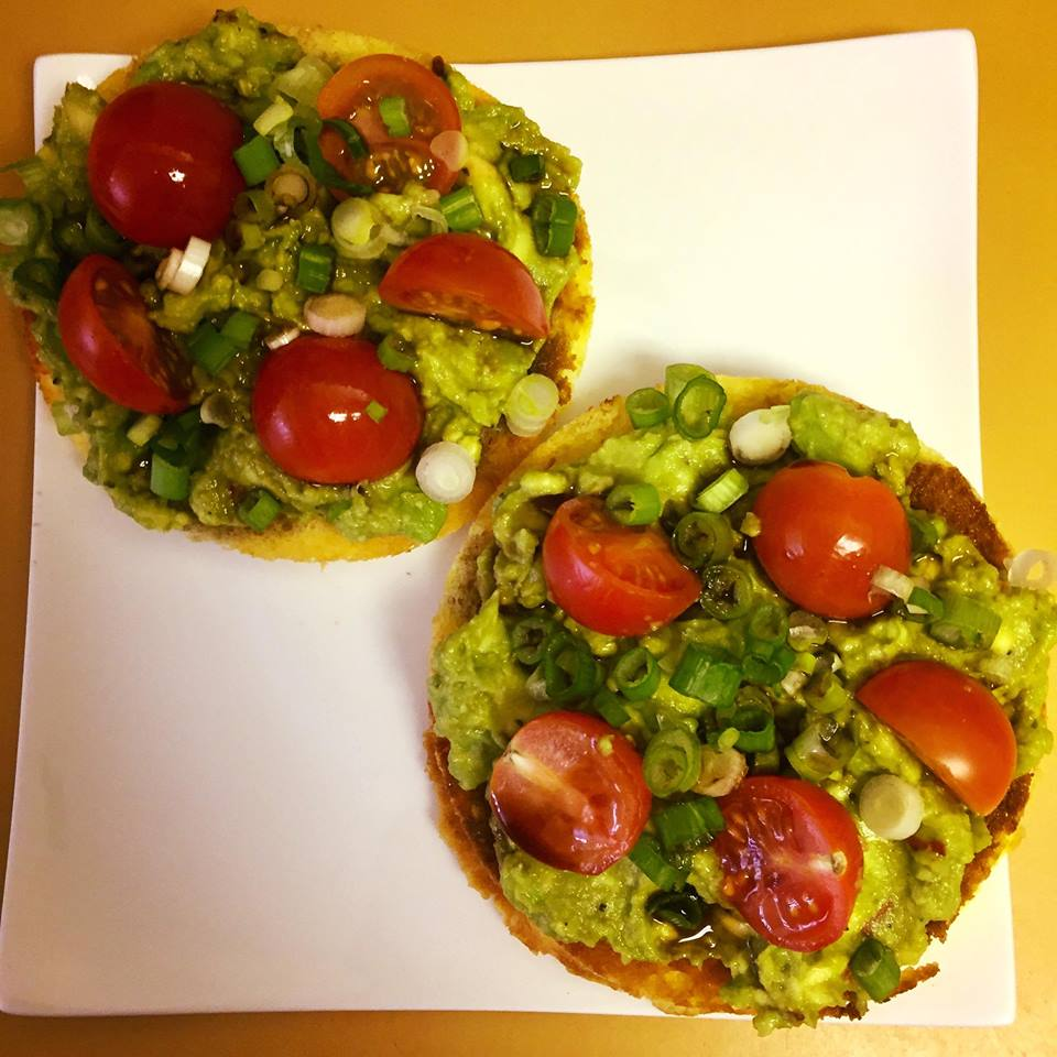 Balsamic Avocado Toast    dimpledkitchen.com