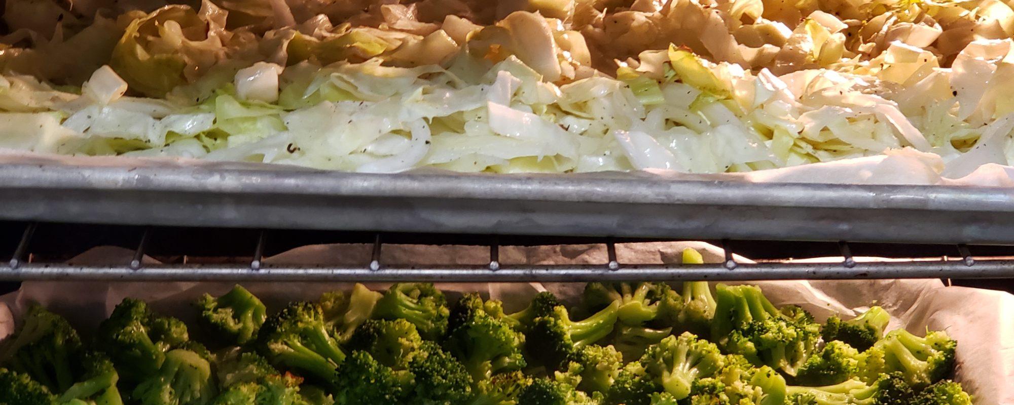Cabbage & Broccoli for Beef Divan