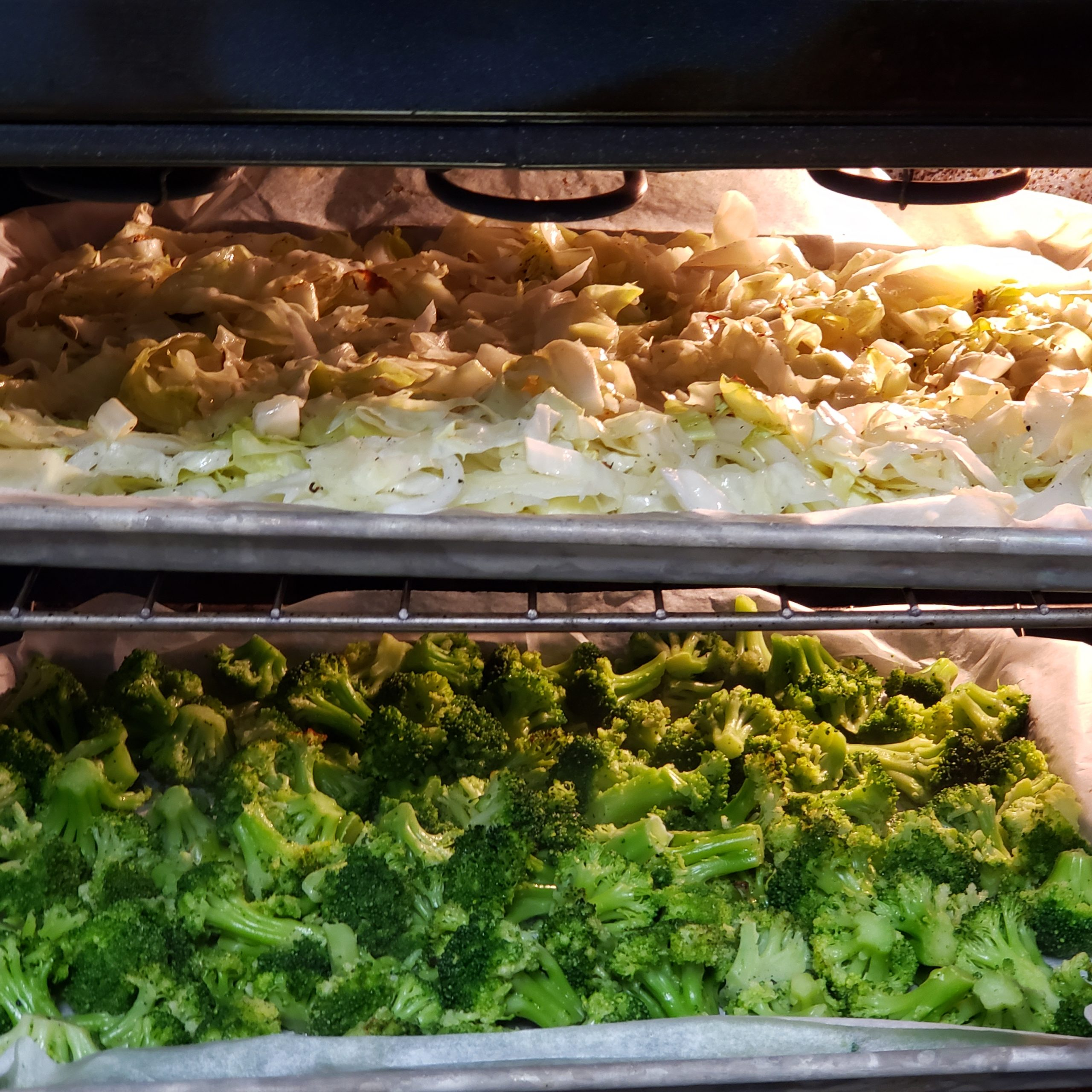 Cabbage & Broccoli for Beef Divan